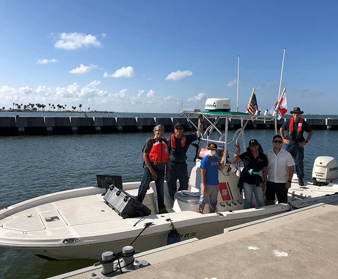 Researchers at UTSA use innovative approach to find victims lost at sea